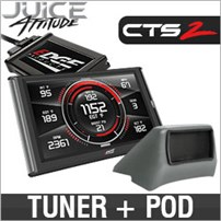 Edge Juice w/Attitude CTS2 and Dash Pod Combo - 07.5-10 GM 6.6L Duramax LMM (Basic Interior Dash)