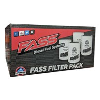 FASS Fuel Filter Pack - Contains (2) XWS-3002 & (2) PF-3001