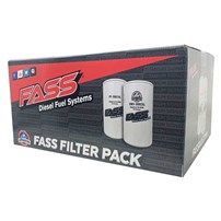 FASS Fuel Filter Pack XL - Contains (1) XWS-3002 XL & (1) PF-3001 XL
