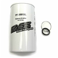 FASS PF-3001 XL Extended Length Fuel Particulate Filter - For Fass Titanium / Signature Series Pump (Requires FASS XWS-3002 XL)