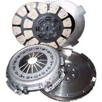 South Bend Dual Disc Clutch 950 hp 1500 ft. lbs. torque - 99-03 Ford 7.3 ZF 6 Speed - FDDC38506