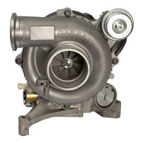 Garrett Reman Exchange Stock Turbo early 1999 Ford Powerstroke 7.3L Turbo With Pedestal - 702650-9005