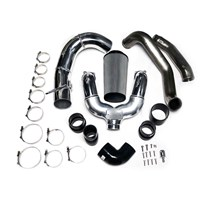 GDP Tuning Intercooler Piping Kit - Raw Finish - 2011-2014 Ford Powerstroke 6.7L