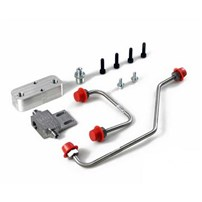 H&S Motorsports Dual High Pressure Fuel Line Assembly