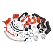 HSP - Duramax LB7 - Over Stock Twin Kit - No Turbo - Factory Battery Location - Burnt Orange