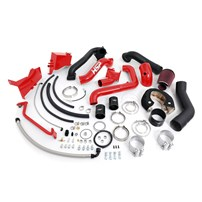 HSP - Duramax LB7 - Over Stock Twin Kit - No Turbo - Factory Battery Location - Blood Red