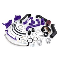 HSP - Duramax LB7 - Over Stock Twin Kit - No Turbo - Factory Battery Location - Candy Purple