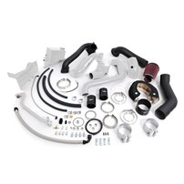 HSP - Duramax LB7 - Over Stock Twin Kit - No Turbo - Factory Battery Location - White