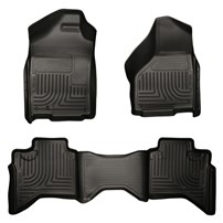 Husky Liner WeatherBeater Complete Sets - Front & 2nd Seat Floor Liners