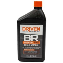 Industrial Injection - Driven Racing Oil SAE 15W-50 Conventional Break-In Motor Oil, 1 Quart