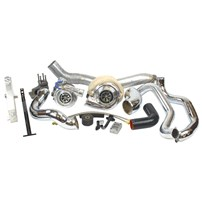 Industrial Injection LB7 Towing Compound Turbo Kit - 01-04 GM Duramax