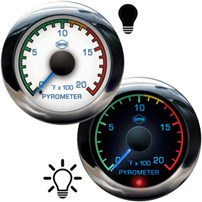 ISSPRO EV2 Pyrometer w/Color Band - R13000 Series