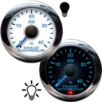 ISSPRO R13000 Series Exhaust Backpressure Gauges