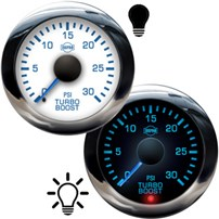 ISSPRO R13000 Series Turbo Boost Gauges