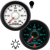 ISSPRO R14000 Series Exhaust Backpressure Gauges