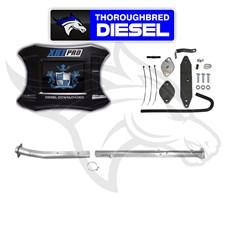 H&S XRT Pro W Flo Pro EGRD & 4'' Cat & DPF Race Pipes 11-14 6.7L Powerstroke