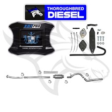 H&S XRT Pro W Flo Pro EGRD & 4'' SS DP Back Exhaust 11-14 6.7L Powerstroke