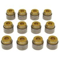 MAHLE Valve Stem Oil Seals Intake Positive Style Set of 12 - 98.5-02 Dodge Cummins 5.9L - B45903