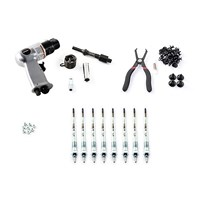 Merchant Automotive Deluxe Glow Plug Replacement Kit - 04.5-05 GM Duramax LLY