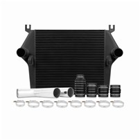 Mishimoto Intercooler w/Pipe & Boot Kit - BLACK - 07.5-09 Dodge 6.7L