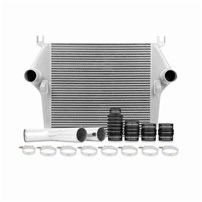 Mishimoto Intercooler w/Pipe & Boot Kit - SILVER - 07.5-09 Dodge 6.7L