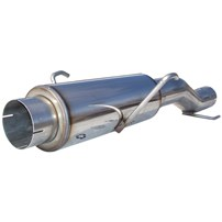 MBRP Direct Replacement Muffler T409 Stainless - 04.5-05 Dodge Cummins 5.9L