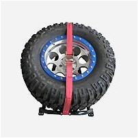 N-Fab Truck Bed Mounted Tire Racks
