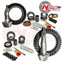 Nitro Gear and Axle Gear Package Kit - 01-10 Chevrolet/GMC 2500 and 3500HD Diesel or 8.1L 3.73 Ratio