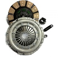 Valair Single Disc Clutch for ZF6 Transmission - 99-03 Ford 7.3L Direct Injection w/6 Speed - Ceramic/Ceramic - 600HP / 1100FT LB Torque - NMU70241-04