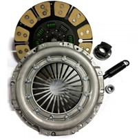 Valair Single Disc Clutch for ZF6 Transmission - 99-03 Ford 7.3L Direct Injection w/6 Speed - Ceramic/Kevlar - 500HP / 1000FT LB Torque - NMU70241-06