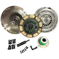 Valair Single Disc Clutch - 01-05 Chevy/GMC Duramax w/ZF6 Transmission - Solid Flywheel Ceramic/Ceramic 550 HP/1100TQ