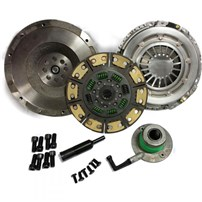 Valair Single Disc Clutch - 01-05 Chevy/GMC Duramax w/ZF6 Transmission - Solid Flywheel Ceramic/Kevlar 450 HP/900TQ