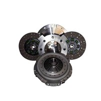 Valair Dual Disc Clutch for ZF6 Transmission -  99-03 Ford 7.3L Direct Injection w/6 Speed - (Dual Mass Conversion) - Dual Disc Sintered Iron SFI Billet Flywheel 750-800HP - NMU73ZF6DD-SI