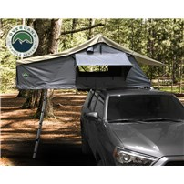 OVS Nomadic 2 Extended Roof Top Tent - Dark Gray Base With Green Rain Fly With Bonus Pack
