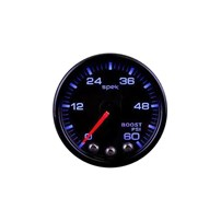 Auto Meter Spek Pro Boost Gauge - 0-60 PSI - Black Face - P304328