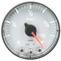 Auto Meter Spek Pro Fuel Level Programmable - 0-300 - White Face - P312128