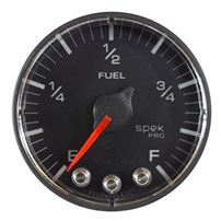 Auto Meter Spek Pro Fuel Level Programmable - 0-300 - Black Face - P312328