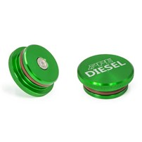 PPE Anodized Green Billet Aluminum Fuel Cap Magnetic – Ram Eco Diesel (273001000)