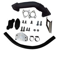GDP Tuning EGR/Cooler Delete Kit w/ Up Pipe - 04.5-05 GM Duramax LLY - R-EGRD-04.5-05LLY-UPP