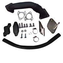 GDP Tuning EGR/Cooler Delete Kit w/ Up Pipe - 06-07.5 GM Duramax LBZ - R-EGRD-06-07.5LBZ-UPP