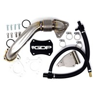 GDP Tuning EGR/Cooler Delete Kit w/ Up Pipe - 11-16 Chevy/GMC Duramax LML - R-EGRD-11-15LML-UPP