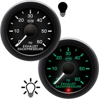 ISSPRO R16000 Series Exhaust Backpressure Gauges