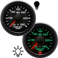 ISSPRO R17000 Series Coolant Temperature Gauges