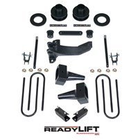 Readylift 2.5'' SST Lift Kit with 5'' Rear Flat Blocks - 2 Piece Drive Shaft without Shocks - 2011-2016 FORD 4WD-DRW - 69-2526