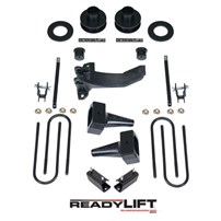 Readylift 2.5'' SST Lift Kit with 5'' Rear Tapered Blocks - 1 Piece Drive Shaft without Shocks - 2011-2016 FORD 4WD - 69-2527