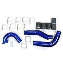 Sinister Diesel Intercooler Charge Pipes w/Intake Elbow (Hot & Cold Side) - 03-07 Dodge Cummins 5.9L - SD-INTRPIPE-5.9-IE-KIT