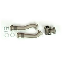 Sinister Diesel Up-Pipes (CERAMIC COATED) - 99.5-03 Ford Powerstroke 7.3L - SD-UPPIPE-7.3-C