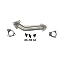 Sinister GM Duramax Up-pipes (DRIVER SIDE) (Stainless Steel) - 01-10 GM Duramax - SD-UPPIPE-DRMX-DRV