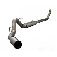 Silverline Diesel Exhaust (SINGLE) - 04.5-07 Dodge Cummins