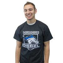 Thoroughbred Diesel Black Shield T-Shirt